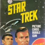 Topps Star Trek 1976 Scanlens Box