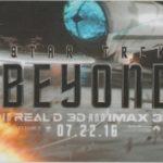 Star Trek Beyond Casers Room Key Card