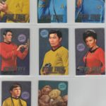 Dave and Buster Star Trek Foil Cards