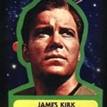 Star Trek Topps 76 sticker
