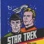 Topps Star Trek 1976 US wrapper
