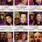 TNG Profiles Autograph Set