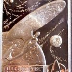 HC Pewter TNG Enterprise-D Card