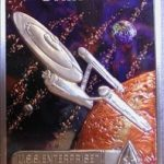 HC Pewter TNG Enterprise Card