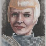 TNG Portfolio Series I Sketch Card