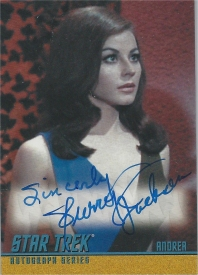 Sherry Jackson Exclusive Autograph