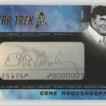 50th Anniversary Roddenberry Cut Signature Card