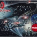 Reversed Image Scottland Credit Card