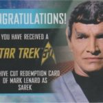 50th Anniversary DeForest Lenard Redemption Card