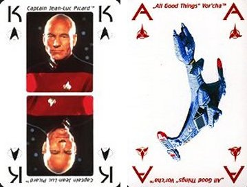 Star Trek Cast playing cards brand new sealed
