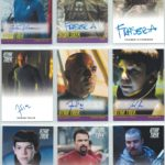 Star Trek Beyond Auto Cards