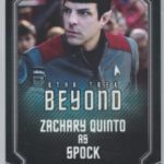 Star Trek Beyond Pin Card Back