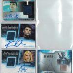 Star Trek Beyond Autograph Relic Cards