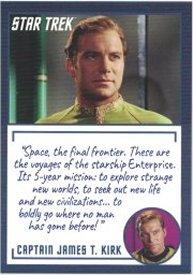 Star Trek TOS Archives /& Inscriptions Base Card #3 Variant 2